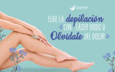 Elige la Depilación con Láser de Diodo y olvídate del dolor.